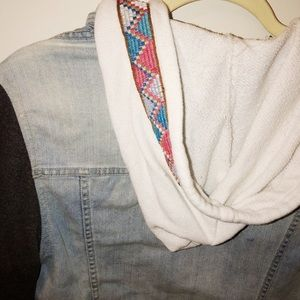 Urban Outfitters Jackets & Coats - Urban Outfitters Trendy Tribal Jean Jacket
